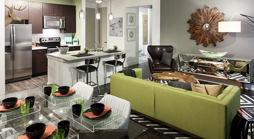 Arpeggio Victory Park Living Room And Kitchen1