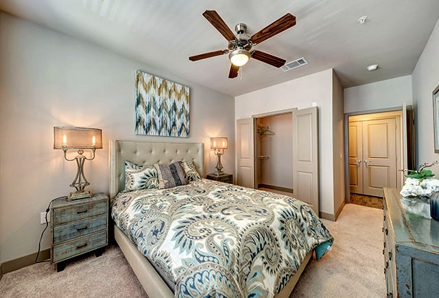 Dolce Living at Twin Creek Apartment Bedroom