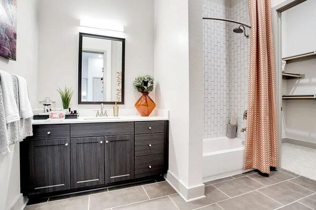 Alta Trinity Green Bathroom