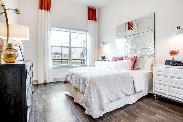 Alta Trinity Green Bedroom