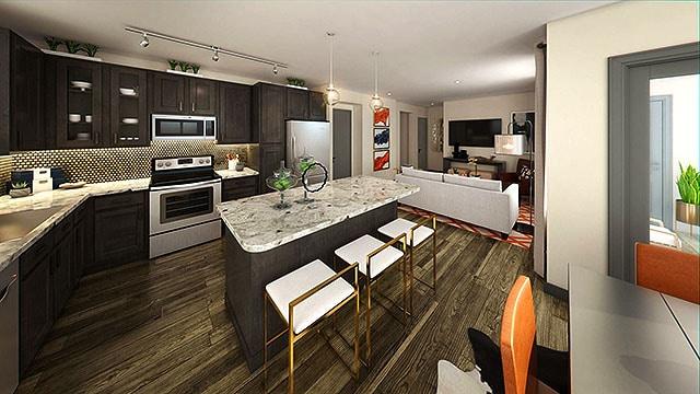 Elan Crockett Row Apartment