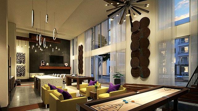 Elan Crockett Row Club Room