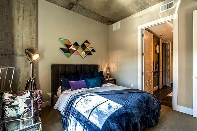 The Case Building Bedroom